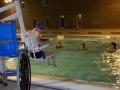 Système de mise à l'eau pour personne en fauteuil roulant
