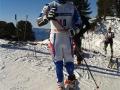 Jordan BROISIN se prépare pour sa descente