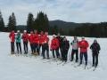 La section ski nordique lors d'une sortie en 2006