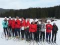 La section ski nordique lors d'une sortie en 2008