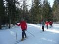 La section ski nordique lors d'une sortie en 2010