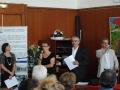 Laurence CONTION et Véronique BRUNEAU avec Gérard ROTH et Karim MATARFI