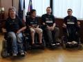 L'équipe de foot fauteuil récompensée