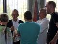 Discussion pendant le buffet