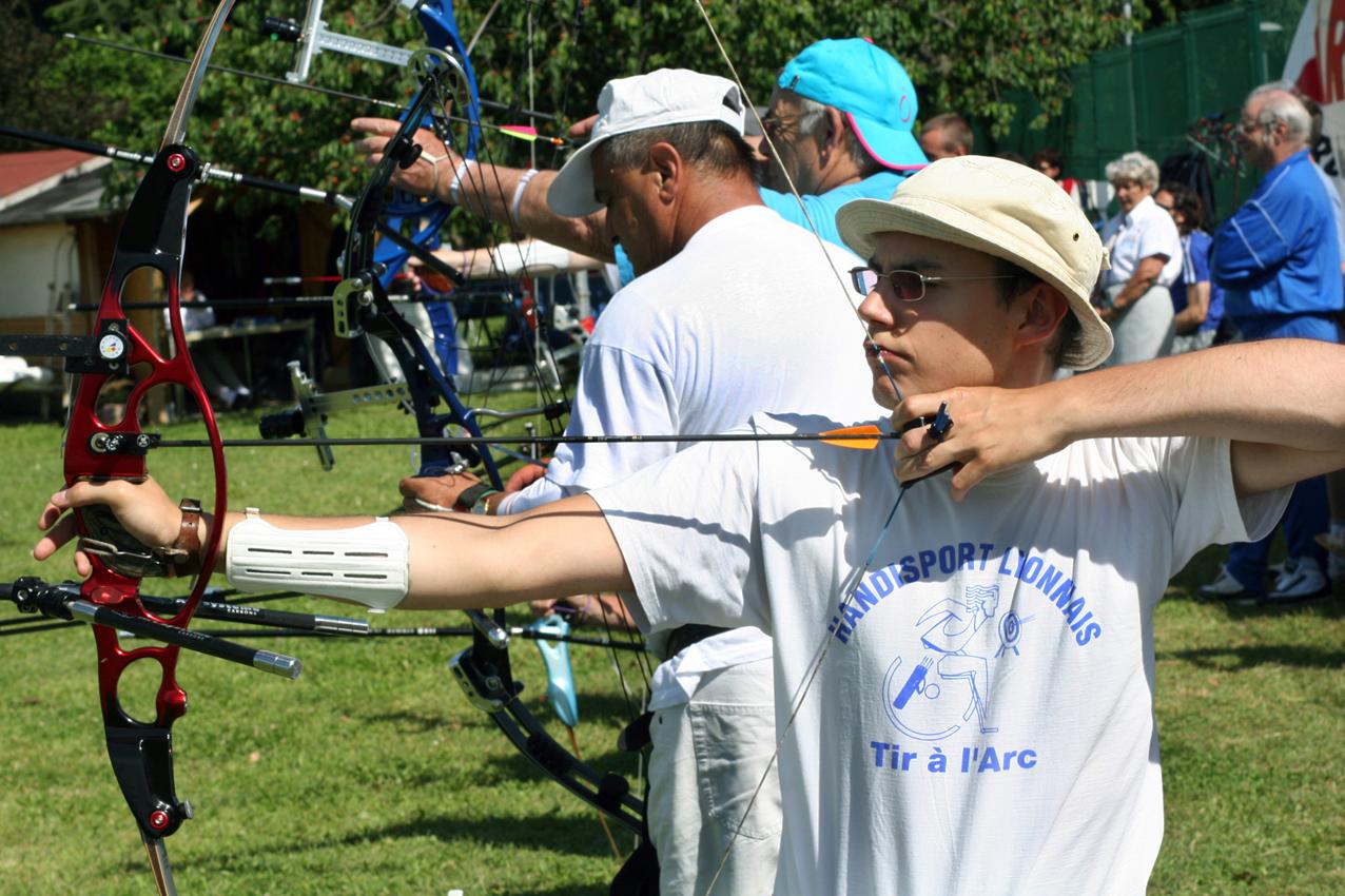 image Le tir a l arc est un sport d equipe
