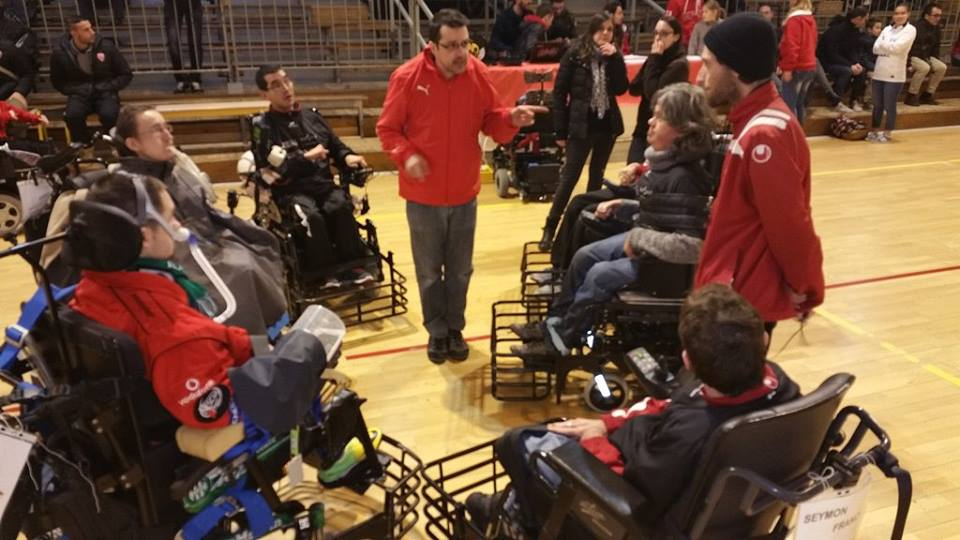 L'équipe 2 et 3 de Foot fauteuil en Championnat du 17 février 2016