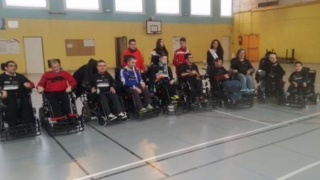 Du Foot fauteuil à Vénissieux