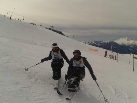 Ski alpin au Grand Bornand le 27 février 2016