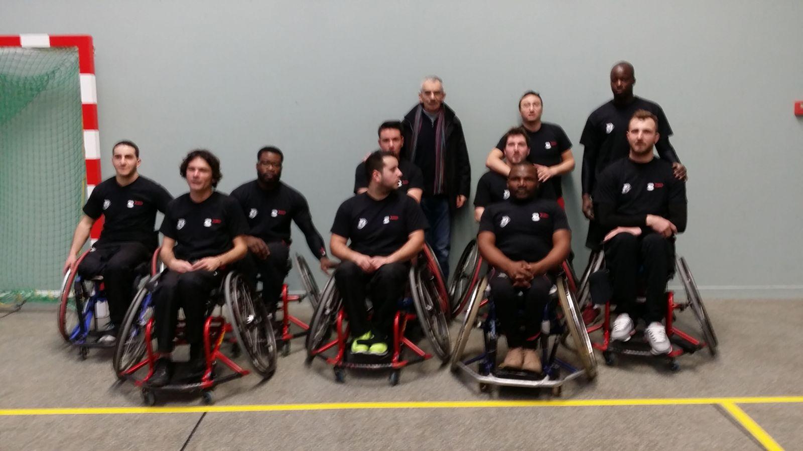 Victoire pour le Basket fauteuil