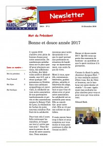 Newsletter num ro 2 handisport lyonnais - Tennis de table albertville ...