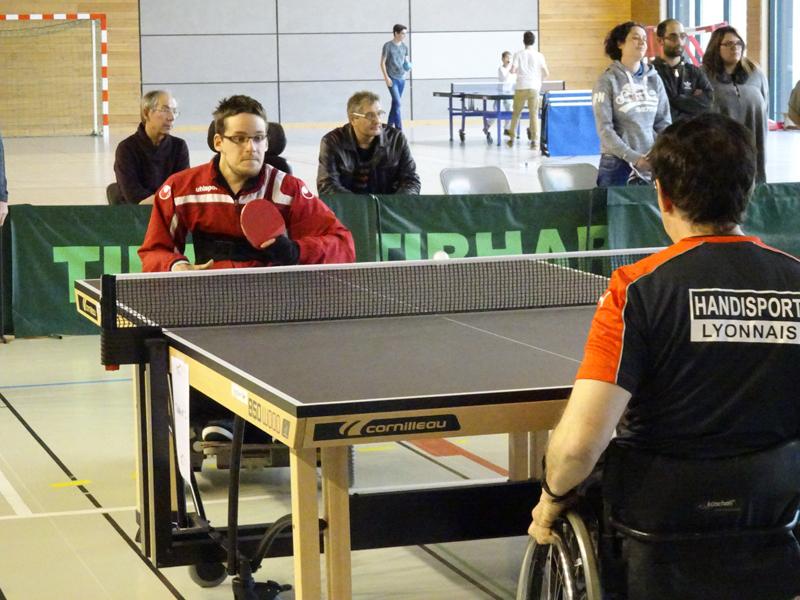 Tennis de table handisport lyonnais - Federation francaise de tennis de table classement ...