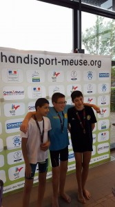 Photo Corentin médaille 3 d'or HL Mai 2017