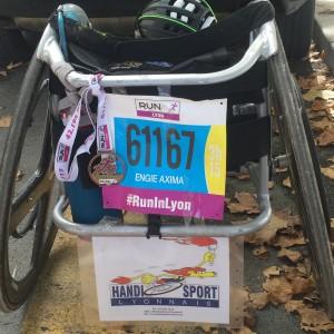 Frédéric 20171001 marathon run in lyon 2