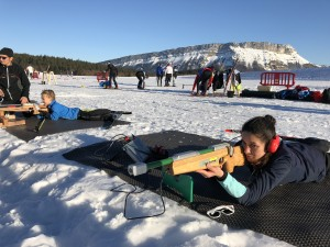 Ski nordique 201801 stage de La Feclaz