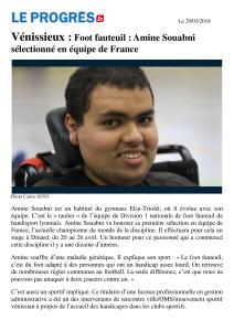 Amine Article le Progrès FFE du 29.03.18_18