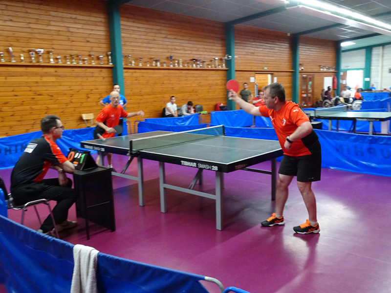 Handisport lyonnais l 39 association - Tennis de table albertville ...