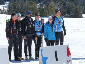 2018 Podium BIATHLON DAMES