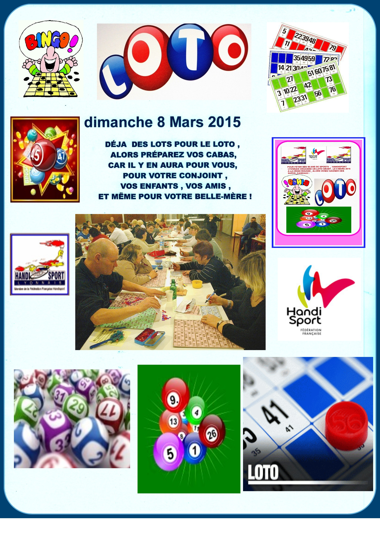 Loto Handisport Lyonnais 2015